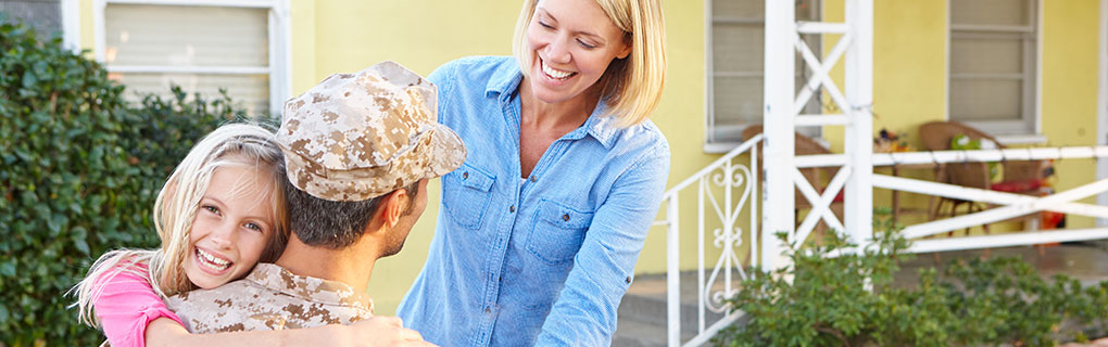 VA Loans help military families get the home of their dreams